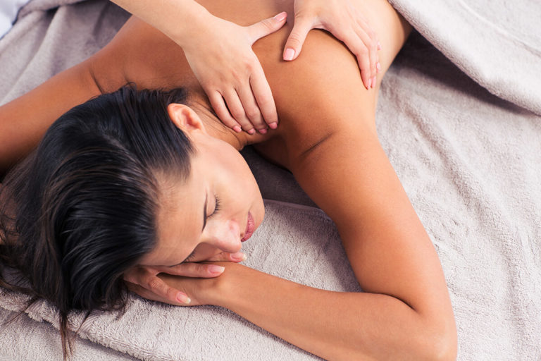 Massage therapy and deep tissue massage